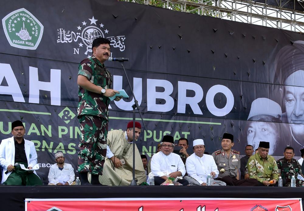 Panglima TNI : Santri Miliki Andil Besar Dalam Perjuangan Kemerdekaan RI
