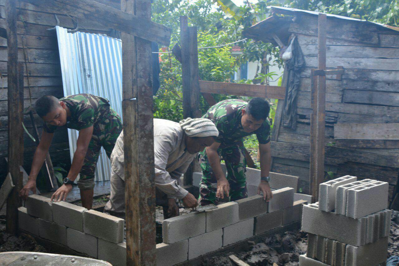 Terima Kasih TNI, Ini Ungkapan Warga Parit Bugis