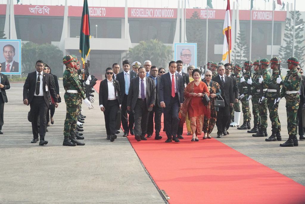 Tinggalkan Bangladesh, Presiden Jokowi Lanjutkan Kunjungan Ke Afghanistan