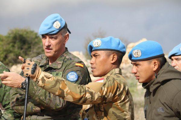 Dansektor Timur Unifil Tinjau Area Operasi Konga XXIII-L di Lebanon Selatan