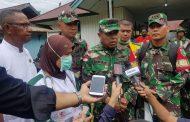 Dansatgaskes TNI : Peninjauan ke Distrik-Distrik Penting Untuk Ketahui Situasi di Lapangan