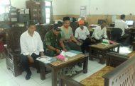Babinsa Koramil 17/Karangdowo Kodim 0723/Klaten Komunikasi Sosial Bersama Aparat Pemerintah Desa