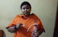 Polsek Kalipuro tangkap Seorang Wanita Pengedar Sabu-sabu