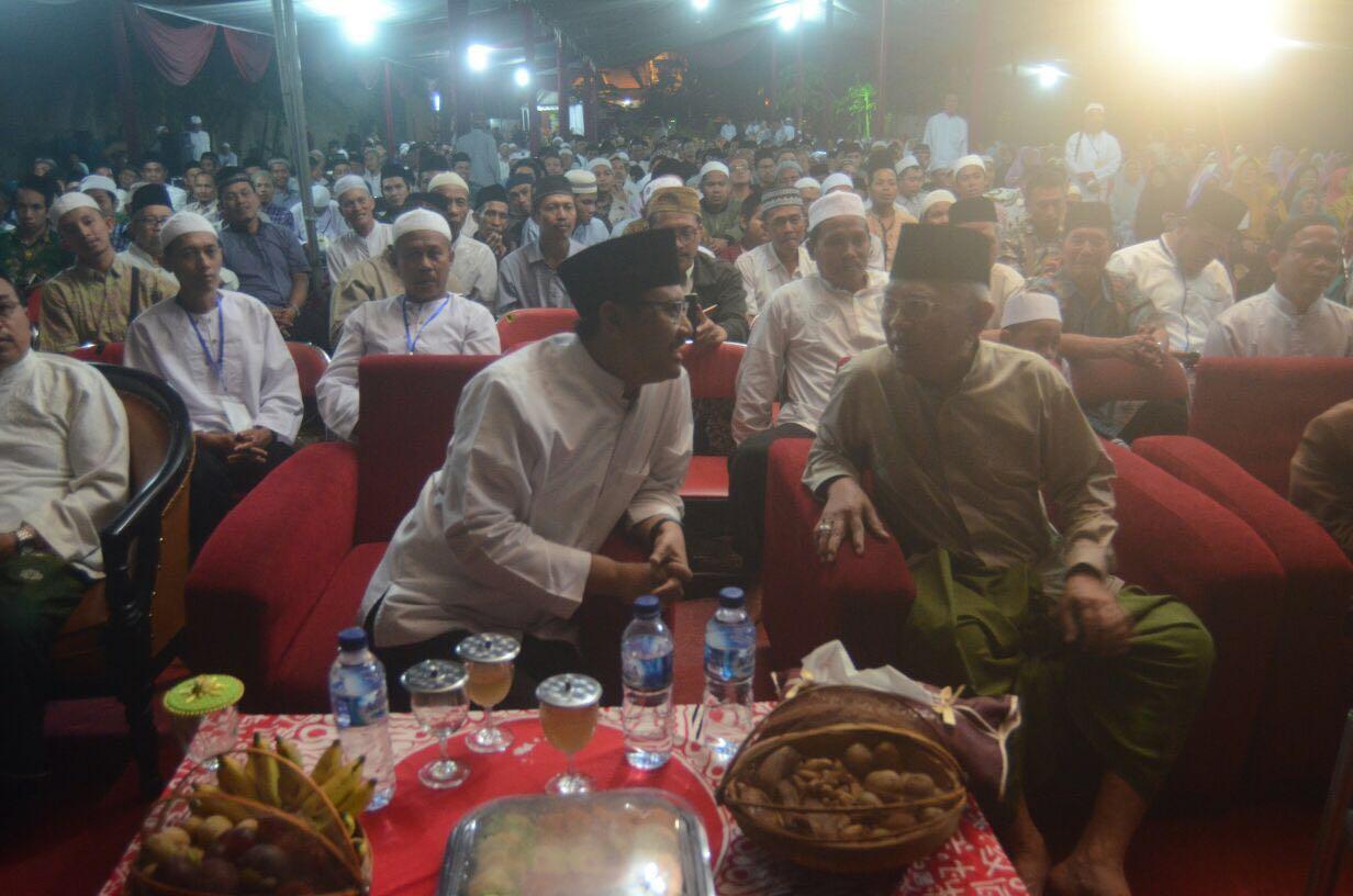 Ngaji Bareng Gus Ipul, Gus Mus : Selalu Hormati dan Taati Ajaran Orang tua dan Kiai