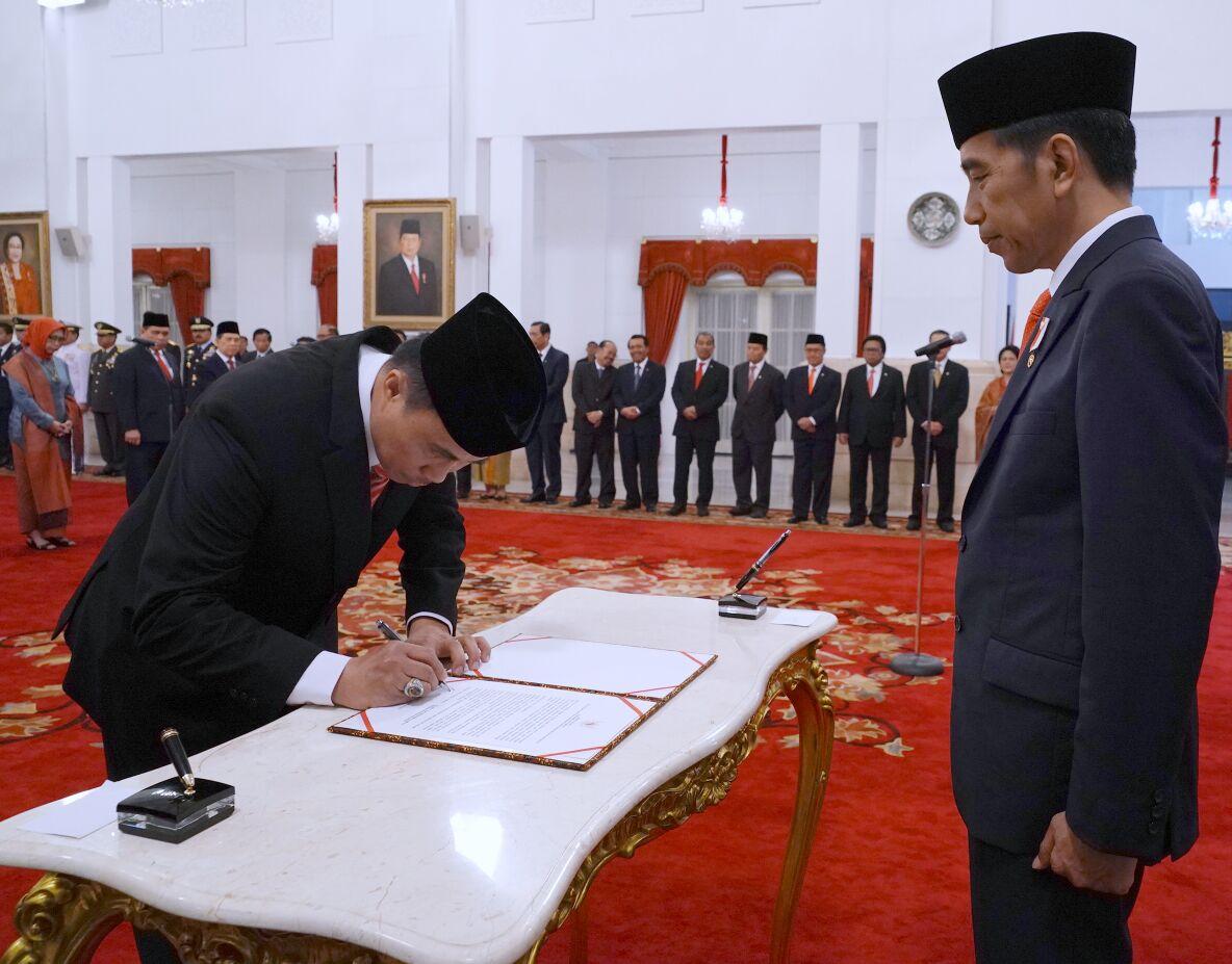 Presiden Jokowi Lantik 17 Dubes Baru RI untuk Negara Sahabat