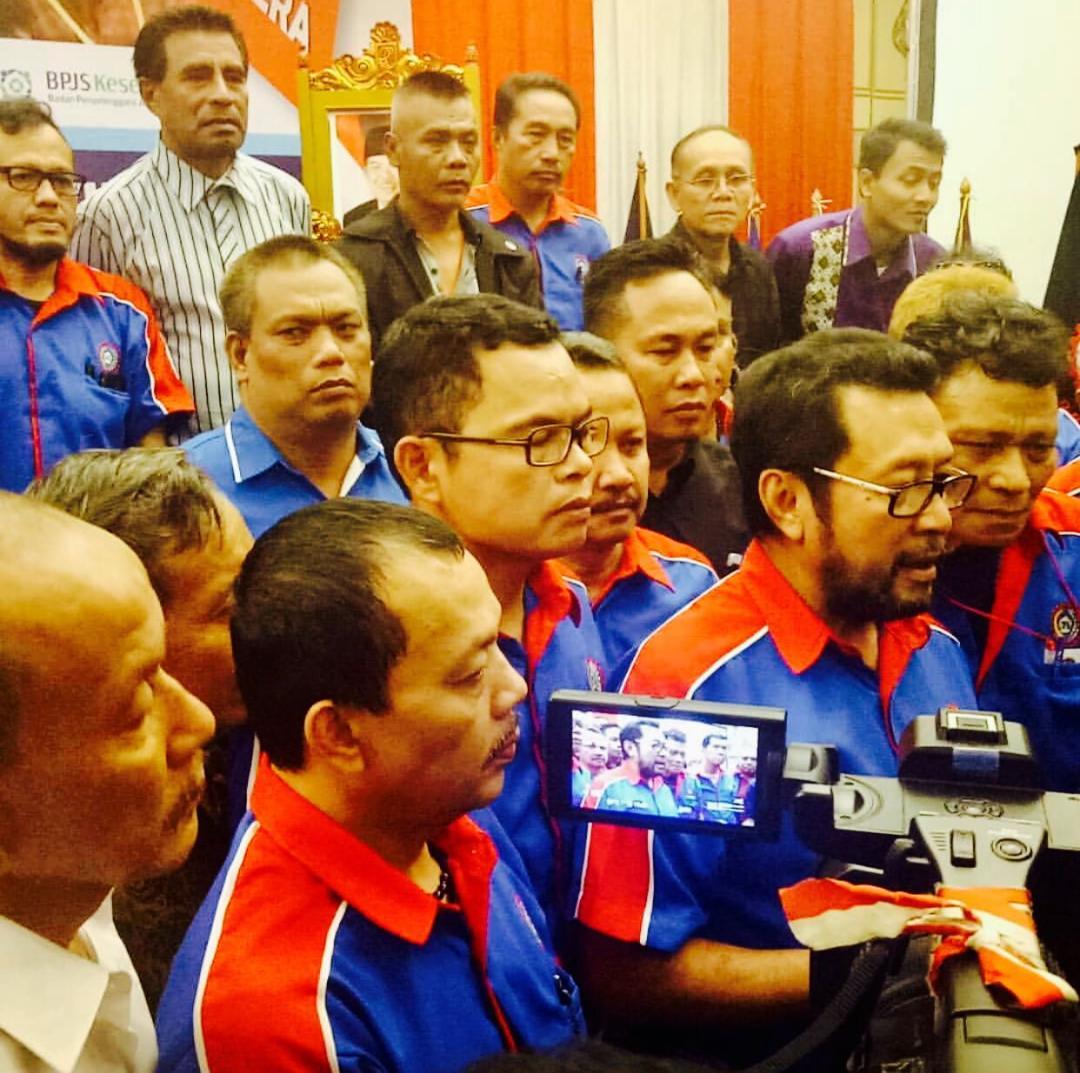 Rapimnas KSPSI Mendukung Jokowi Presiden Dua Periode