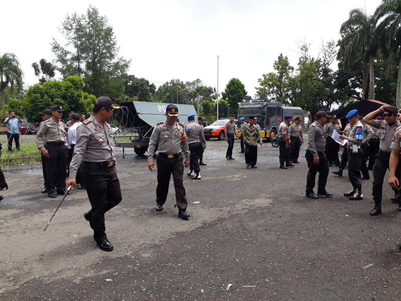 Polres Bolmong Terjunkan 250 Personel Amankan Pentapan Pasangan Calon Kepala Daerah