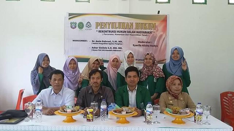 Ashar Sinilele Ketua Klinik Hukum UIN Alauddin Makassar