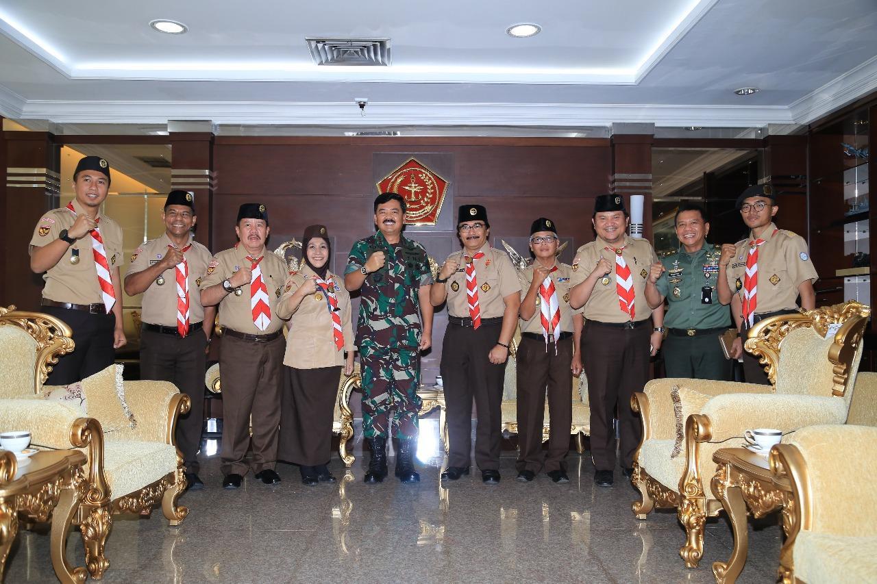 Malam Ini, Panglima TNI akan Membuka Rapat Kerja Nasional Gerakan Pramuka