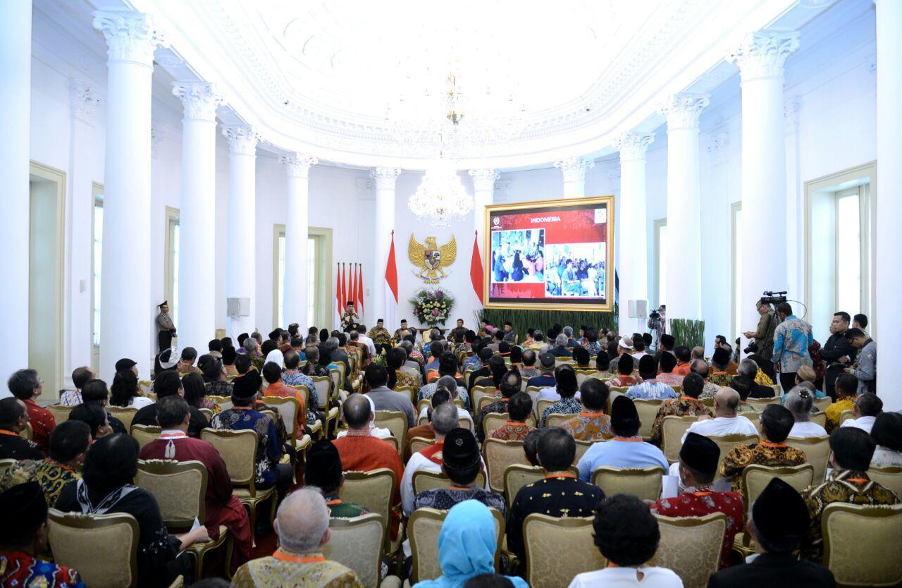 Presiden Apresiasi Komitmen Pemuka Agama Perkokoh Kerukunan Bangsa