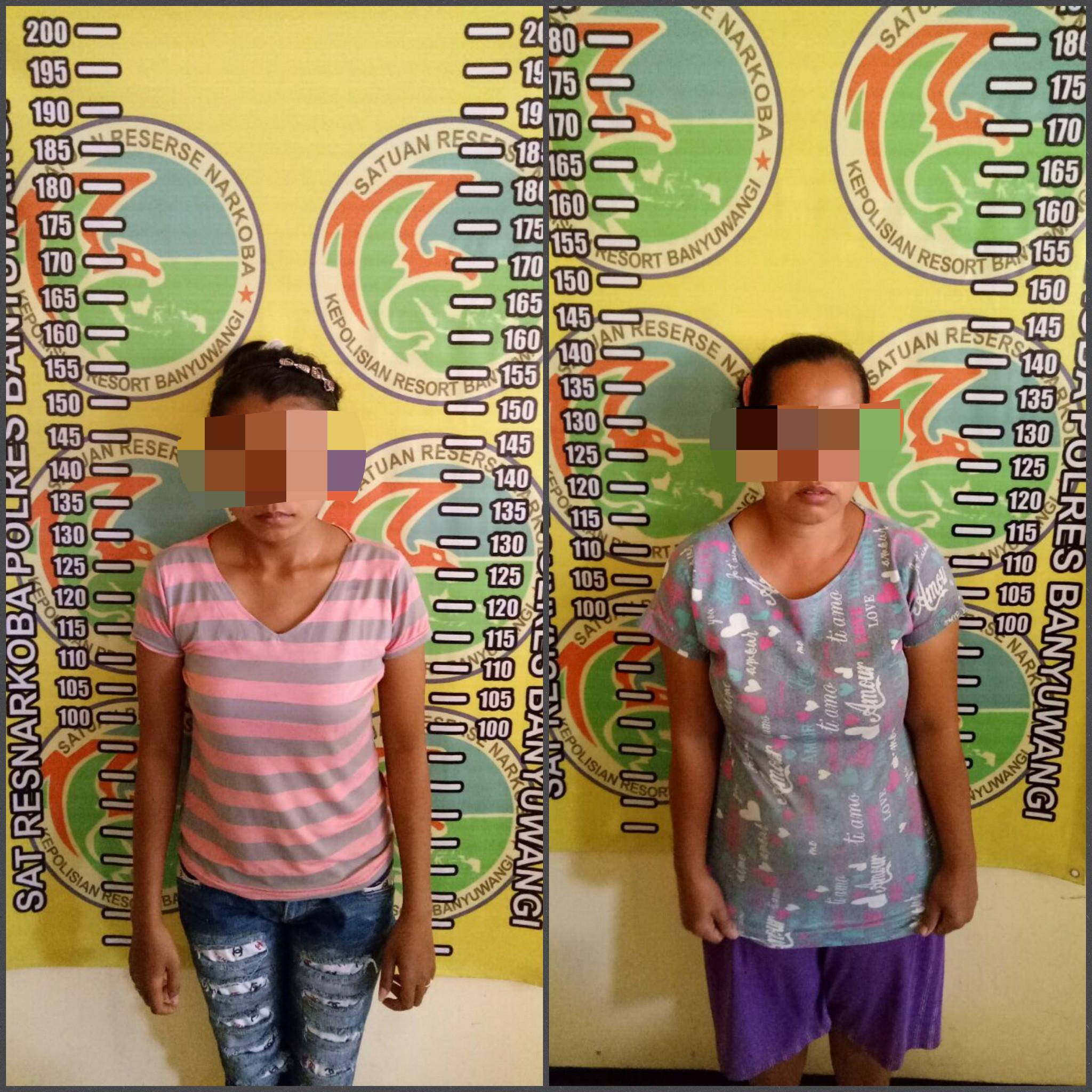 2 Wanita Pengedar Sabu di Banyuwangi Diringkus Polisi