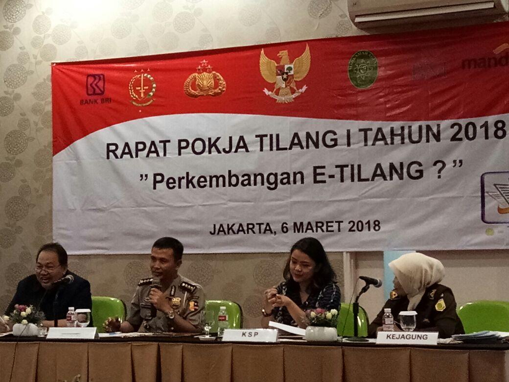 KSP Dorong Polri, MA, dan Kejagung Untuk Matangkan Pelaksanaan Sistem E-Tilang