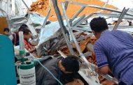 Gedung  RSAL Surabaya Dikabarkan Ambruk, Diduga Telan Banyak Korban