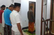 Anggota Polres Sula Laksanakan Safari Sholat Subuh Berjamaah Di Mushala Al.Mubaroq