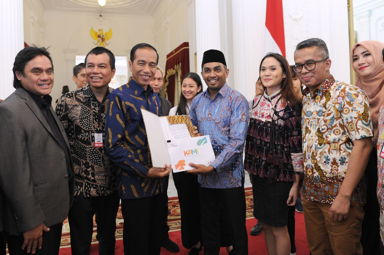 Presiden Dorong Musisi Buat Visi dan Peta Jalan Musik Nasional