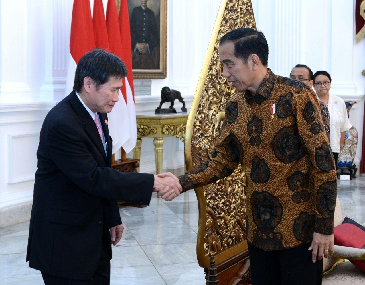 Presiden Menerima Kunjungan Kehormatan Sekjen ASEAN