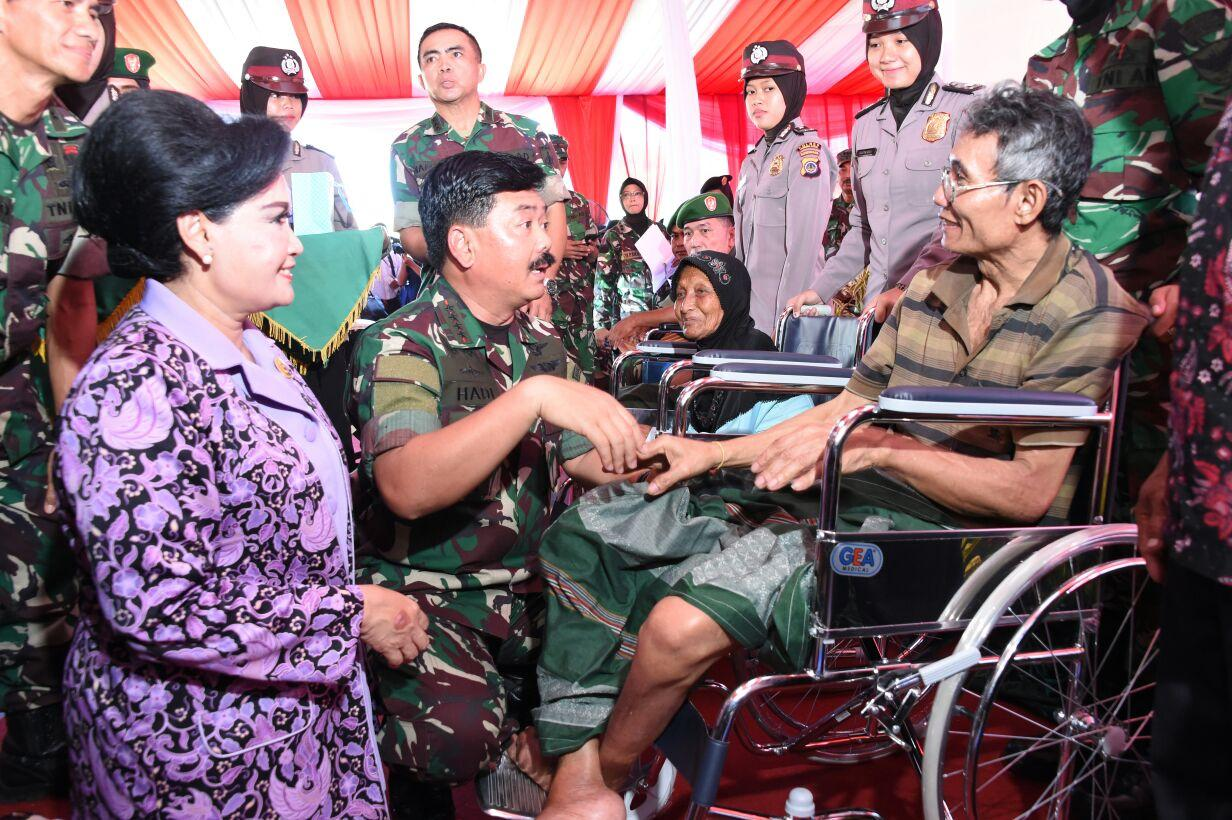 Panglima TNI : Bakti Sosial Kesehatan Wujud Dharma Bakti dan Kepedulian TNI