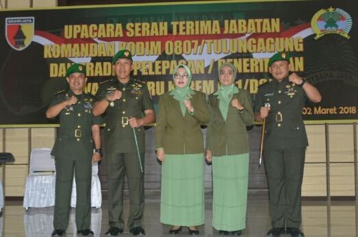 Tongkat Komando Dandim Tulunggung, Bergulir