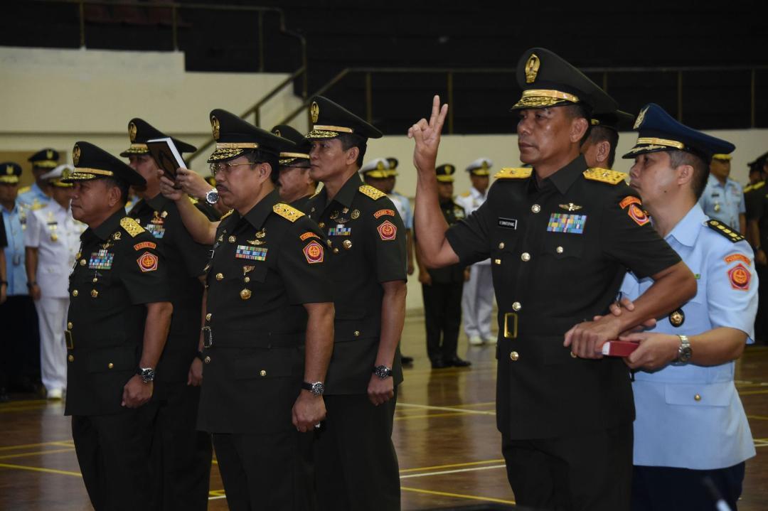 Panglima TNI : Sumber Daya Manusia TNI Harus Mampu Hadapi Beragam Tantangan