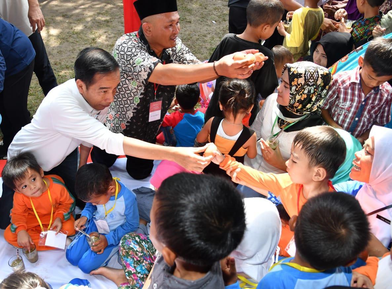 Presiden Tegaskan Pentingnya Pemberian Makanan Bergizi Pada Masa Emas Pertumbuhan Anak
