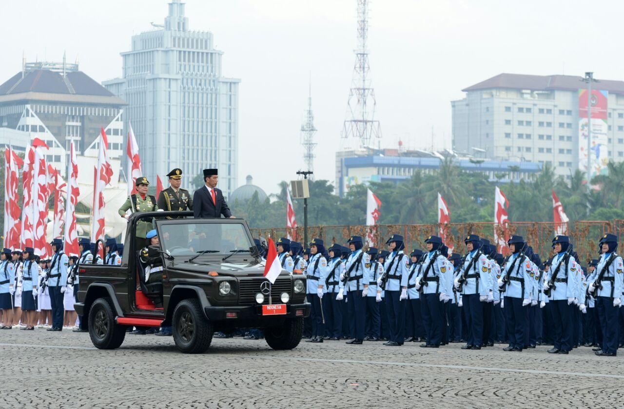 Presiden Ajak Wanita TNI dan Polwan Teruskan Semangat Juang Kartini