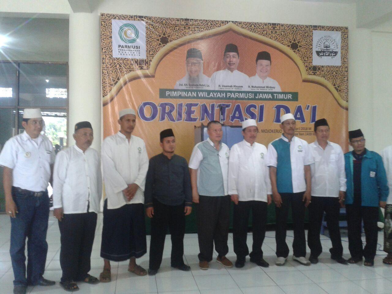 PW PARMUSI Jawa Timur Gelar Orientasi DA'I.
