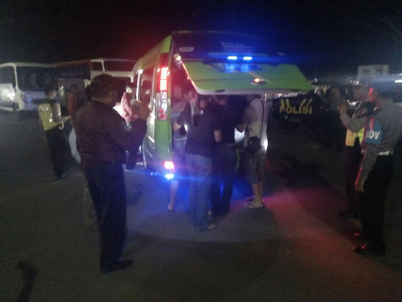Aparat Gabungan Kembali Gelar Razia Malam Ini di Wilayah Gambiran