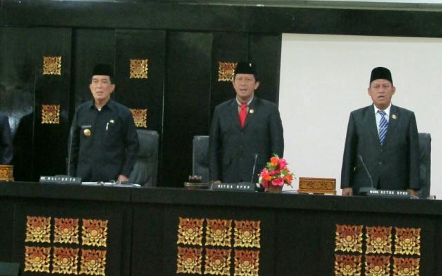Pjs Walikota Berikan Tanggapan Terhadap 8 Raperda Kota Palembang