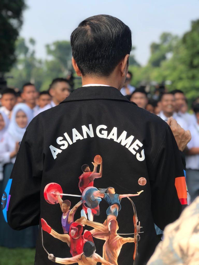 Presiden Jokowi Ajak Masyarakat Sambut dan Promosikan Asian Games ke-18