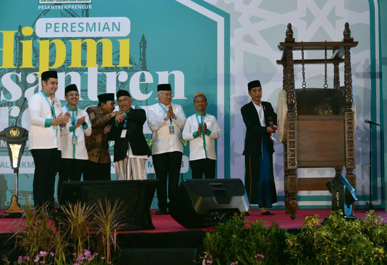 Presiden Resmikan Program Pesantrenpreneur di Pasuruan