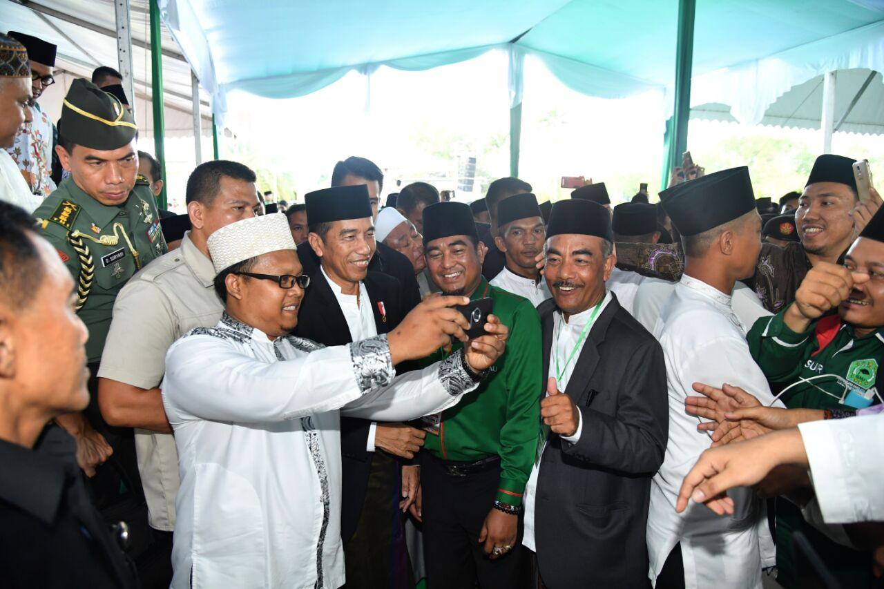 Presiden Apresiasi Kiprah 92 Tahun NU Jaga Wasatiyyat Islam Indonesia