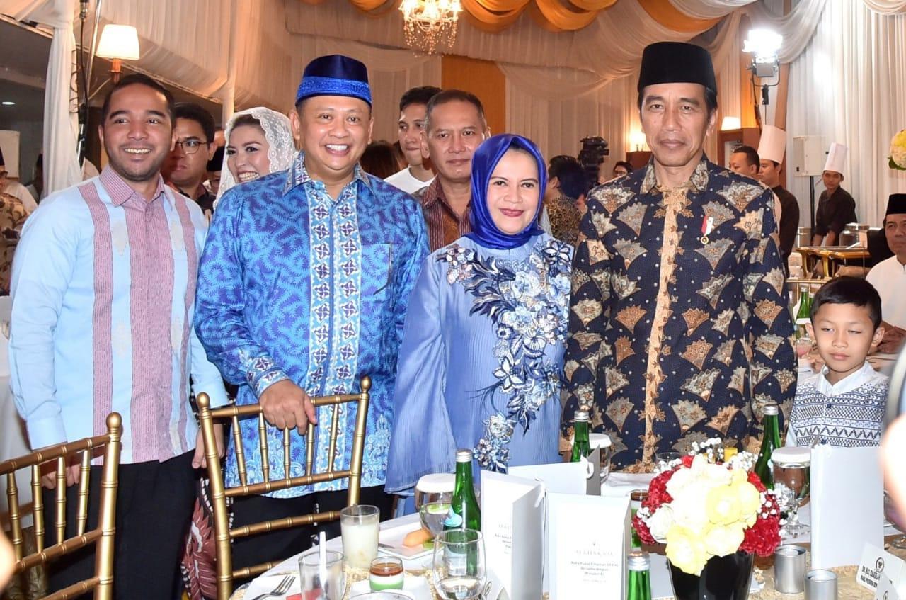 Presiden Buka Puasa Bersama di Rumah Dinas Ketua DPR