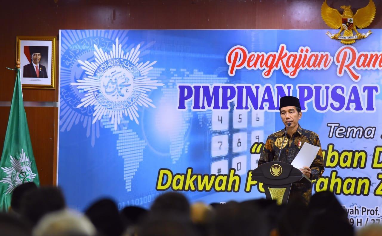 Presiden Sanggupi Permintaan Muhammadiyah untuk Bangun Rusun