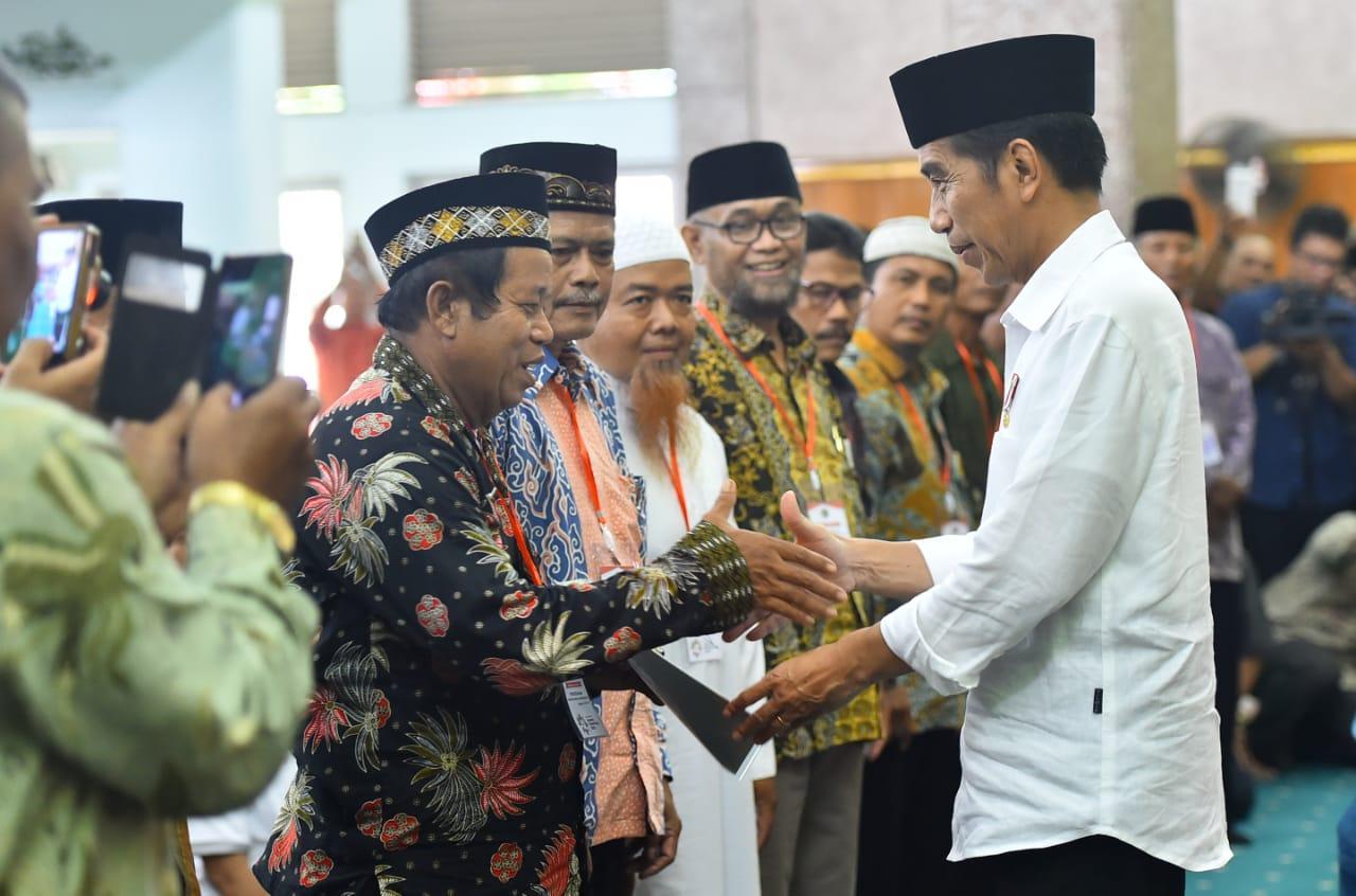 Presiden Tegaskan Sertifikasi Tanah Wakaf untuk Lindungi Dari Sengketa Lahan