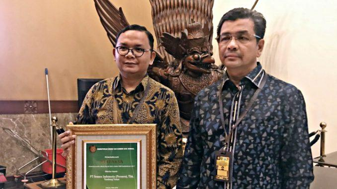 Semen Indonesia Raih Penghargaan Emas Kementerian ESDM
