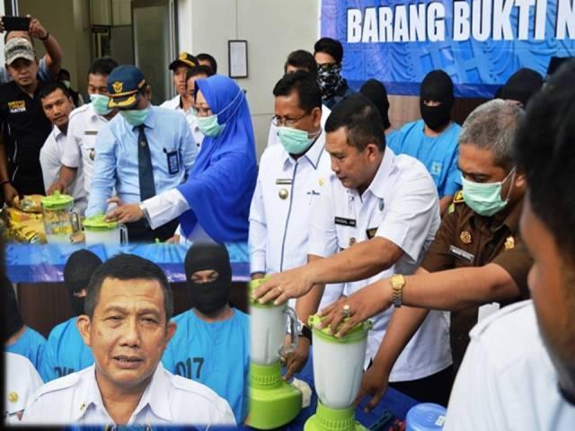 BNNP Aceh Musnahkan Puluhan Kg Narkotika Jenis Sabu