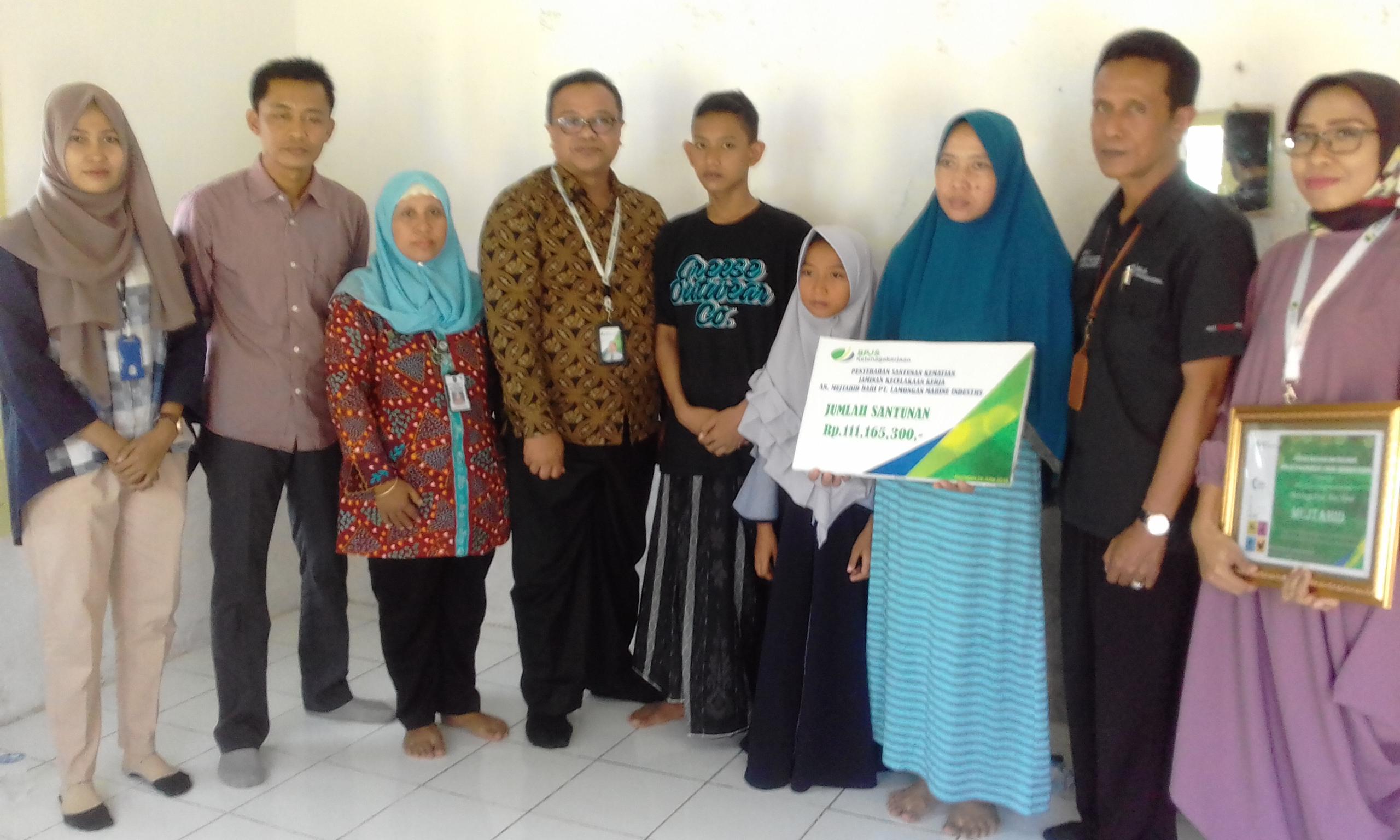 Layanan Prima Bpjs Ketenagakerjaan Surabaya Darmo Sampai Lamongan Beritalima Com