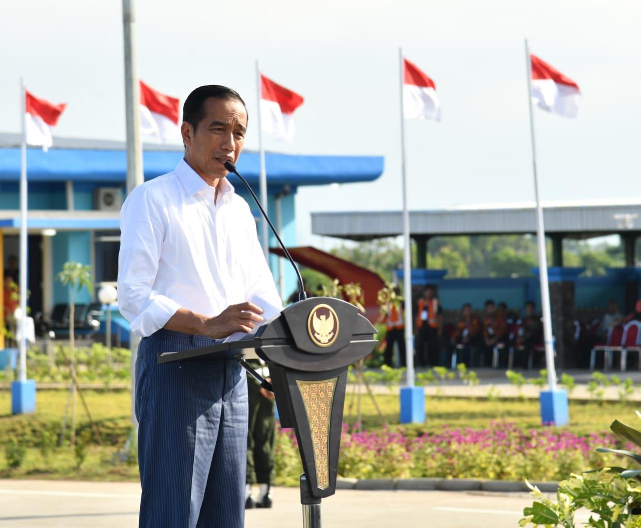 Presiden Resmikan Jalan Tol Gempol-Pasuruan