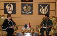 Panglima TNI Terima Kunjungan Kehormatan Menhan Australia