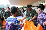 Berita Foto : Mabes TNI Selenggarakan Bazar Murah Idul Fitri 1439 H