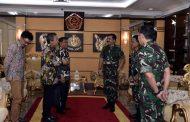 Panglima TNI Terima Kunjungan Dirut PT. Pindad (Persero)