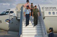 Berita Foto : Panglima TNI Tiba di Rimba Air Force Base Brunei