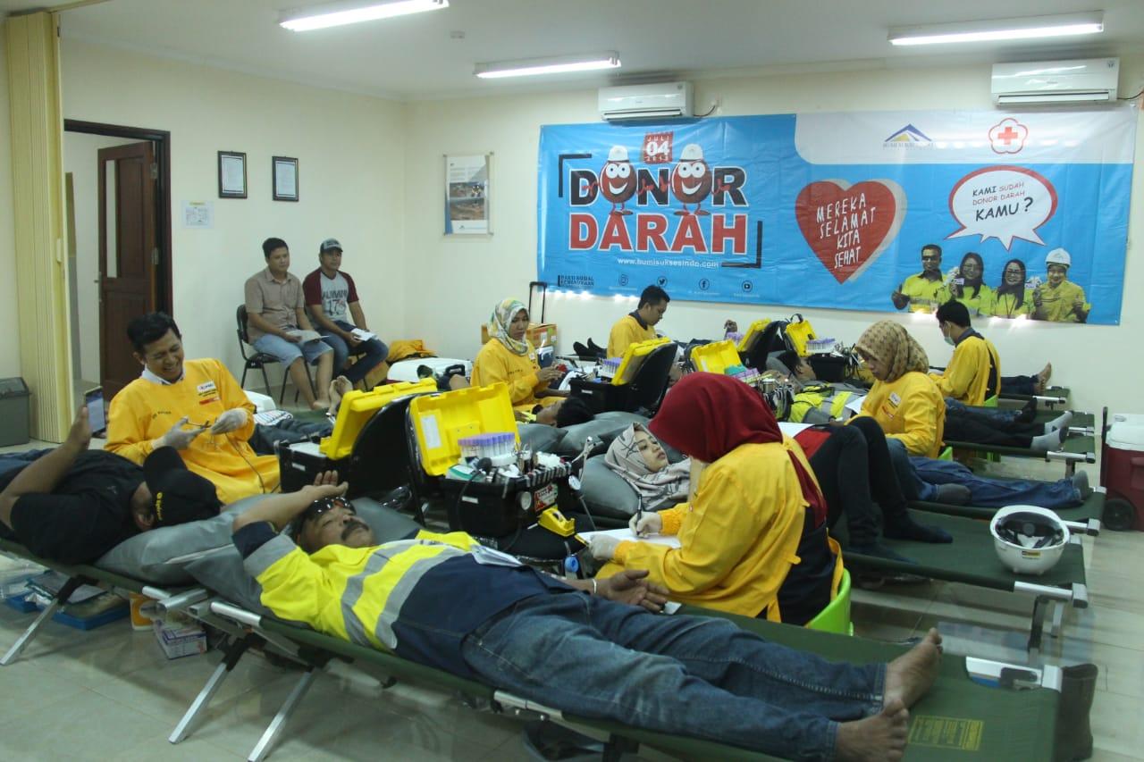 Sempat Tertunda Bulan Puasa,  PT BSI Kembali Gelar Kegiatan Donor Darah