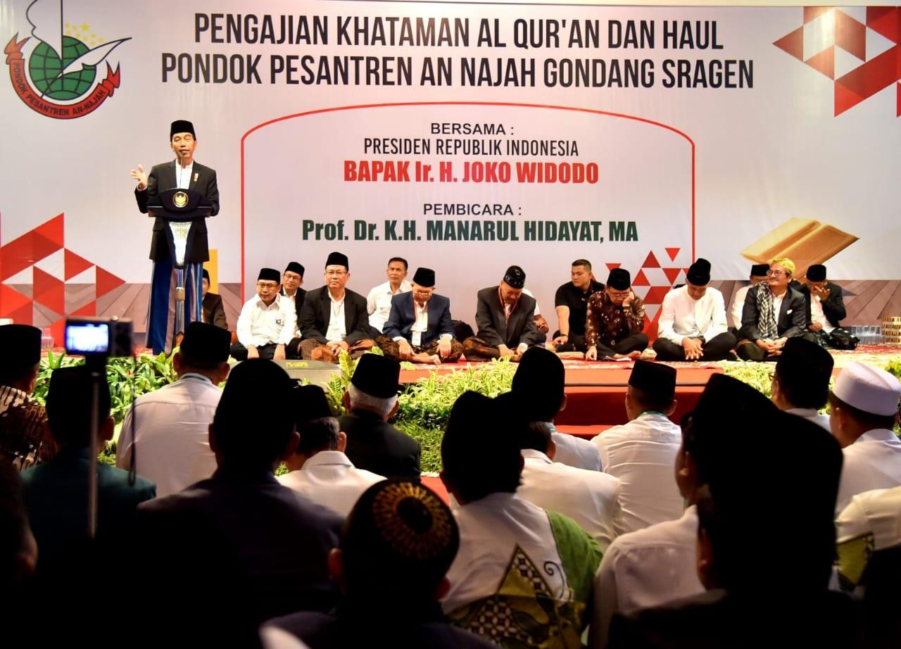 Presiden Ingatkan Berprasangka Baik Adalah Budaya dan Etika Bangsa Indonesia