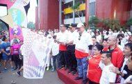 Ribuan Warga Palembang Ramaikan Giat Fun Run Untuk Indonesia