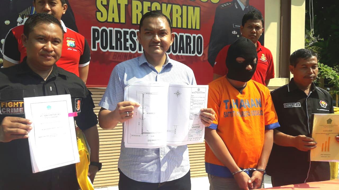 Korupsi Peniggian Jalan Paving, Polisi Amankan Kepala Desa P