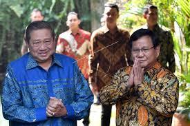 Bicarakan Koalisi, Prabowo Lakukan Pertemuan Tertutup Dengan SBY