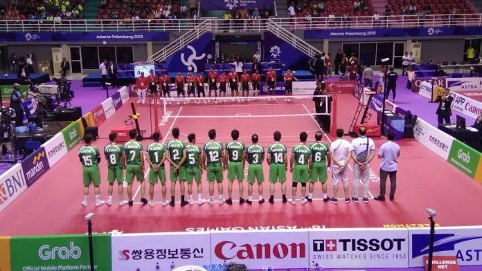 Cabor Sepaktakraw, Indonesia Menang 3 – 0 Lawan Iran