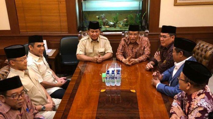 Setelah Muhammadiyah, Prabowo-Sandi Temui Said Aqil Siraoj di Kramat Raya