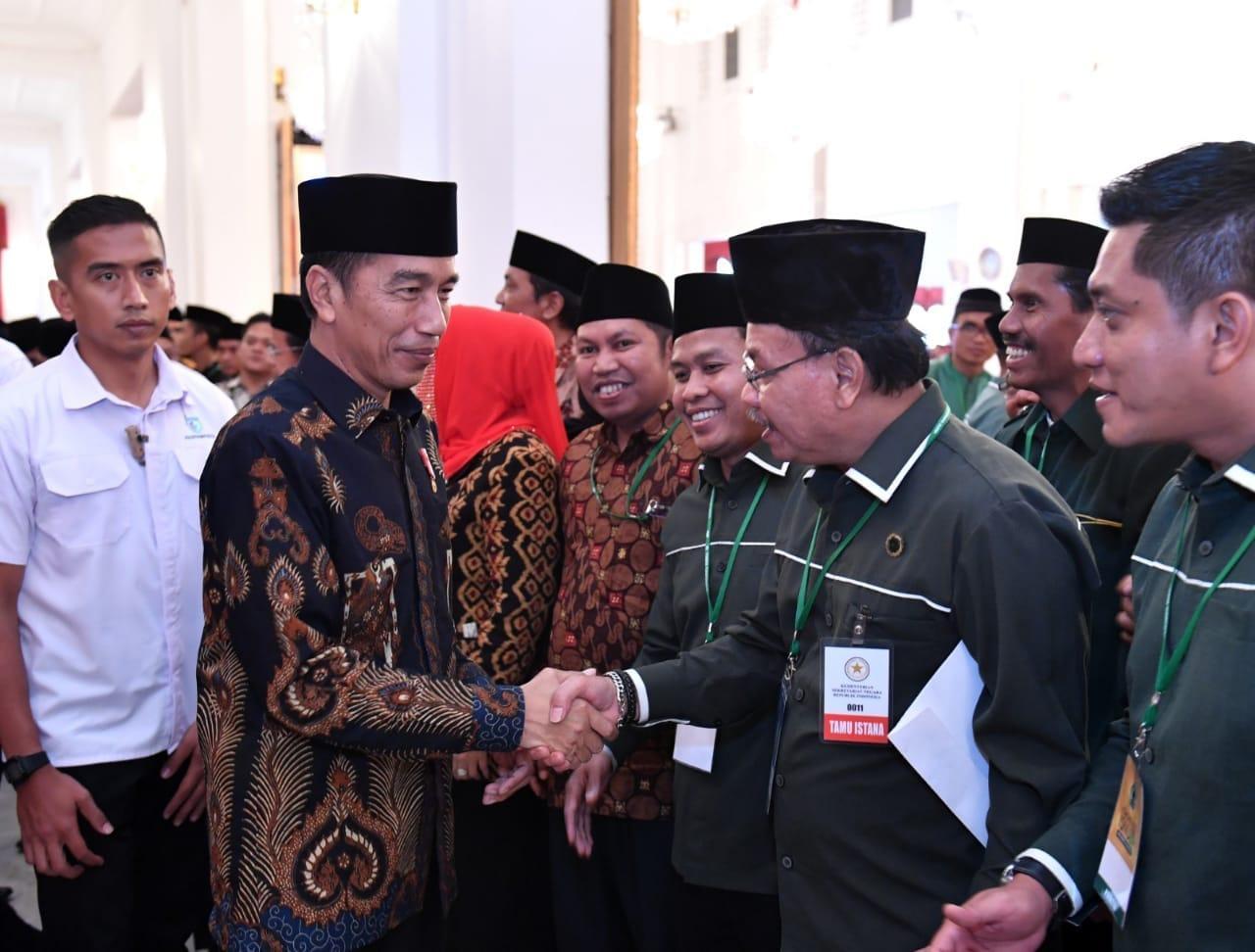 Presiden Lantik Agus Gumiwang Kartasasmita sebagai Menteri Sosial